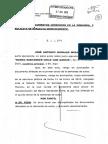 BANCO SANTANDER DEMANDA CONTRA GARCÍA PERALTA