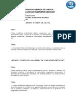 MISION Y VISION DE LA UTA.docx
