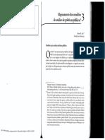 Dye 20052010 Mapeamento Dos Modelos de Anc3a1lise de Pp