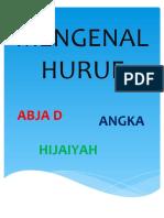 MENGENAL HURUF