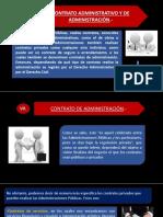 Contrato Administrativo y de Administración.