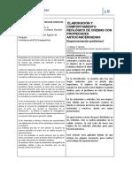 Analisis de Articulos. Formulacion de Cremas - Elaboracion y Comportamiento