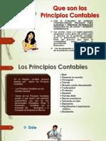 Principios Contables Generalmente Aceptados