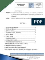 Reporte Parcial de Servicio BS SAI