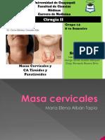 1.- Cuello Masa cervicales y CA TIROIDES y PARATIROIDES.pptx