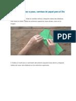Cómo Hacer Camisas Papiroflexia