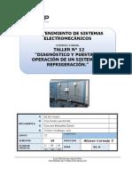 12 Diagnóstico y Puesta en Operación de Un Sistema de Refrigeración.