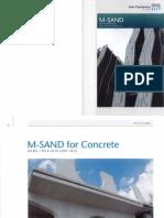 M Sand Brochure