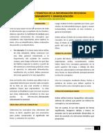 M9_Organziación Temática de La Información Recogida