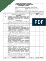 Programa de Auditoria - Ingresos