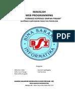 Webpro semester 2