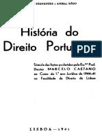 Historia Do Direito Portugues I