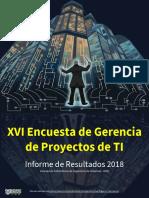 Informe 2018 - Encuesta XVI Gerencia de Proyectos de TI en Colombia