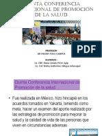Quinta Conferencia Internacional de Promoción de La Salud