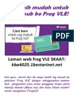 Kini Lebih Mudah Untuk Log Masuk Ke Frog