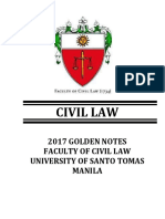 UST Gn 2017 Civil Law