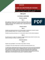 Zakon o Plovidbi i Lukama Na Unutrasnjim Vodama 41 2018