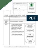 8.7.3 SOP Evaluasi Hasil Mengikuti Pendidikan Dan Pelatiahan