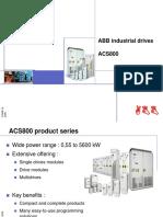 ACS800 Portfolio Presentation