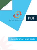 OCA Constitution and Rules