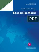 Economics World, Vol.6, No.4, 2018