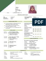 resume farah ain small