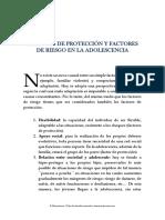 16.Factores de Protección y Factores de Riesgo en La Adolescencia