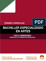 Diseño Curricular Secundaria Especializada en Artes ESEA(1)