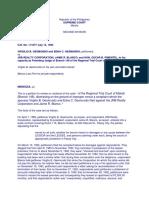 Gesmundo, Et Al. v. JRB Realty Corporation, Et Al., GR 111077 (July 14, 1994)