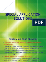 Special Application Solutions