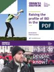 Raising the Profle of IBD
