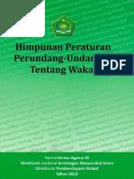 Himpunan Peraturan Perundang Undang Tentang Wakaf 2012