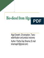 Algal Biodiesel