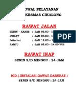 1.1.1.2 Brosur, Flyer, Papan Pemberitahuan, Poster (BELUM)