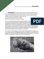 Parasitology Mycology, Virology, Immunology