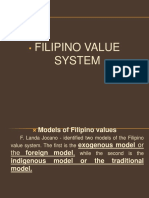 137901811 Filipino Value System