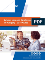 Labour Law and Employment in Hungary – 2018 Guide