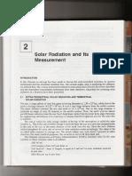 Solar Radiation Measurement