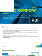 Winning Against Microsoft in 2016 and Beyond- Positioning the Technical, Strategic, Business and Cost Advantages of VMware - PDF En