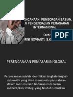 9.Perencanaan, Pengorganisasian, Dan Pengendalian Pemasaran Internasional