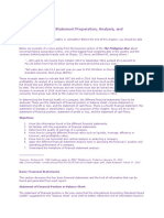CHAPTER 2 Review of Financial Statement Preparation, Analysis, And Interpretation