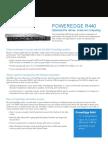 PowerEdge R440 Spec Sheet