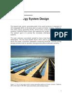 Design of Solar Energy System