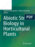 Abiotic Stress Biology in Horticultural Plants