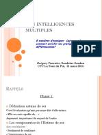 Les Intelligences Multiples