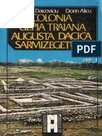 Alicu Dorin Daicoviciu Hadrian Colonia Ulpia Traiana Augusta Dacica Sarmizegetusa