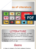 Literary Genres Ppt