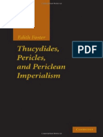 Edith Foster Thucydides, Pericles, and Periclean Imperialism  2010.pdf