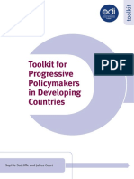 A Toolkit for Progressive Policymakers in Developing Countries