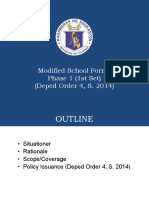1. Modified School Forms Overview as of May 2018